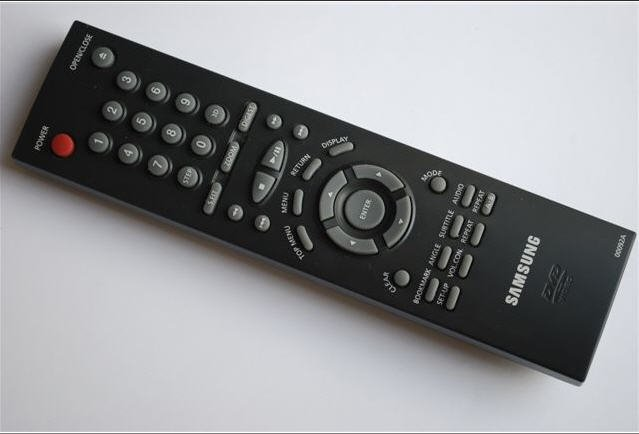 Samsung Remote Control for DVD Player - Model: 00092A  - (Preowned - Very Good)