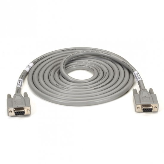 Black Box  EGM12D-0005-FF  Extended-Distance/Quiet Cable with Nonremovable EMI/RFI Hoods