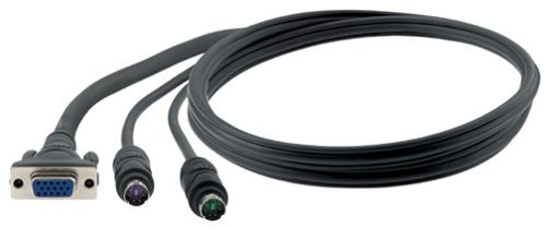 10ft All In One PS2 KVM Cable Pro Series for Omniview - Belkin - No. F3X1105-10