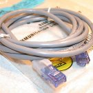 Cat 5 Gray 3 Ft. Patch Cord - Allen Tel Products- No. AT1503-8CLBGY