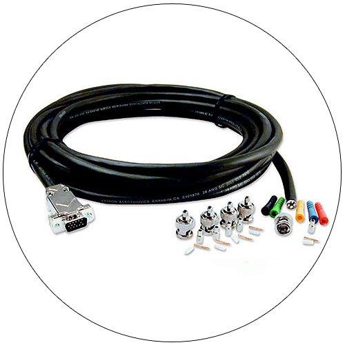 Extron Install Kit - No. 26-511-02 - 15HDM-BNC-5, 75 Ft.