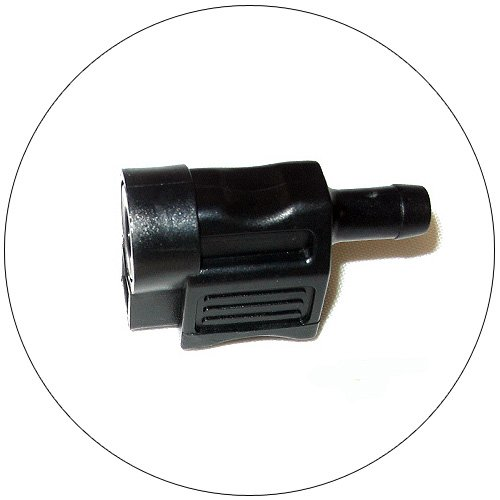 Quick-Connect Fuel Line Fitting - Attwood - No. 8900-7