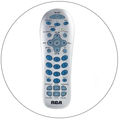 RCA Remote Control - No. RCR412S - (Preowned - Very Good)