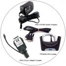 HP PDA Value Pack - PE2035A PDA Cradle, iPAQ Adapter Coupler  & Switch Adapter