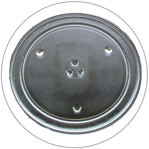 """GE Microwave Glass Cooking Tray - 12-3/4"""" Dia. - Part No. WB49X10079 - (Refurbished - Like New)"""