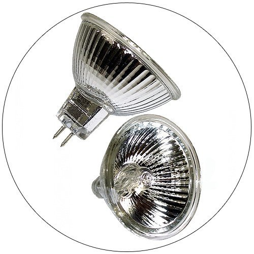 50 Watt MR16 Sunbeam MightyBulb � Halogen Light Bulb - Front Glass - 2 Pack