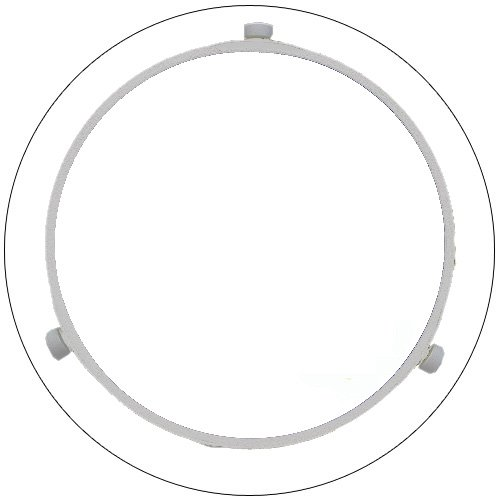 """Samsung Microwave Tray Guide Roller - 9 7/8"""" Dia. - PN: DE61-00377A - (Refurbished - Like New)"""