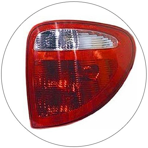 Dodge Caravan Passenger Tail Light Lamp Assembly - No. 04857600AH (Preowned)