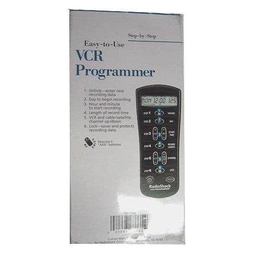 Radio Shack VCR Program Remote Control - Model: 15-1996