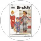 Simplicity No. 7947 Sewing Pattern - Toddler's Jumpsuit & Hat - Size 1/2-2