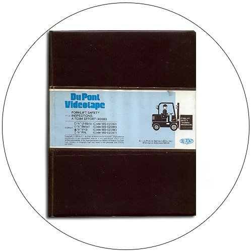 Forklift Safety Inspections: Team Training Video - Du Pont, Inc. No MS-02386 (Preowned - Like New)