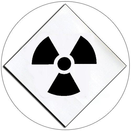 "Chemical Hazard Panel Self-Adhesive Label - RADS - 5 1/2""H x 5 1/2""W - EMEDCO No. DCI4-RADS"