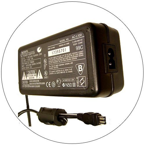 Sony Power Adapter Supply No. AC-L10A  (Refurbished)