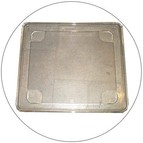 "Microwave Square Glass Tray 11 3/8 "" X 11 3/8"" (Refurbished - Like New)"