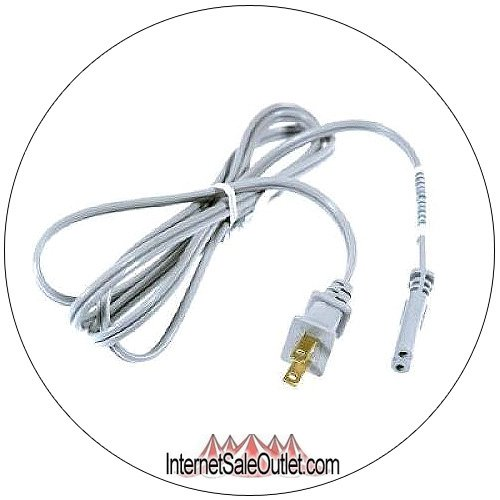 HP Two Prong Power Cable Cord Round Edge Round Edge No. 8120-8900 (New In Stock)