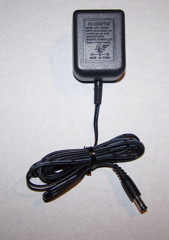 Sigmatel AC Power Supply Adaptor No. STA-12030U (Refurbished)