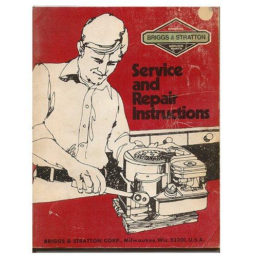 Original Briggs and Stratton Service & Repair Instructions - No. 270962-03/84 (Vintage Collectible)