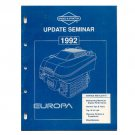 Original Briggs and Stratton Update Seminar Europa - MS-2508-10/91 (Vintage Collectible)