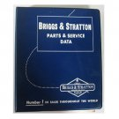 Original Briggs and Stratton Service Manual Parts & Service Data - 1963 (Vintage Collectible)