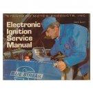 Original Electronic Ignition Service Manual Standard Motor Products, Inc. - AF 3862