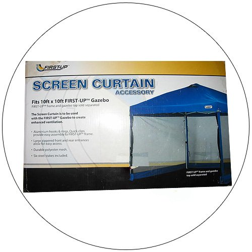 First-Up Screen Curtain - No. WMT-1010GM (New In Stock)