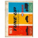 Original 1972 Illinois Garage Supply South Napa Echlin Tune-Up Specs Guide - Form No. AP-1-72