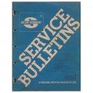 Original 1980 Series  Volume 3 Standard Motor Service Bulletins - Form No. AF 4019