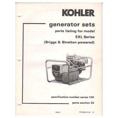 A A F B on Kohler Small Engine Parts Catalog