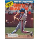 "Original July 24, 1989 Issue Sports Illustrated ""Wood Bats Are Doomed"" (Collectible - Very Good)"