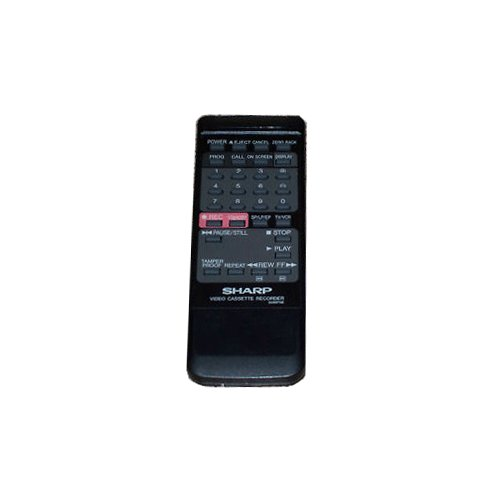 Sharp VCR Remote Control G0687GE (Refurbished)