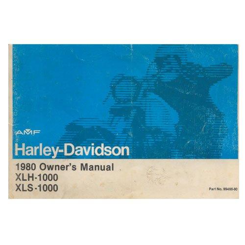 Original 1980 Harley Davidson Owners Manual Part No. 99466-80