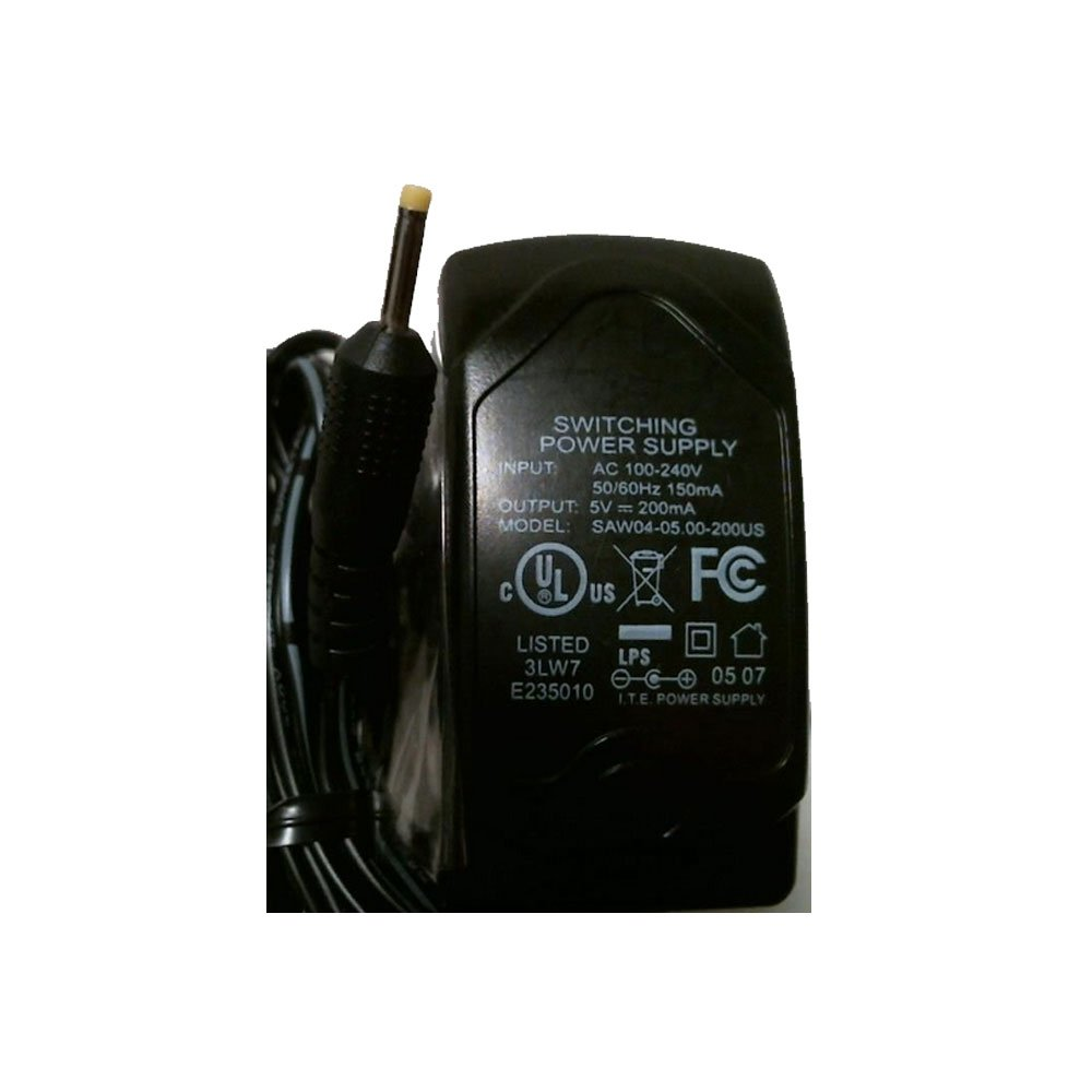 Generic AC Power Supply Adapter No. SAW04-05.00-200US (New)