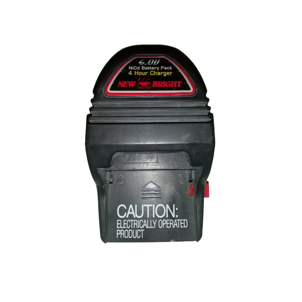 New Bright 6.0V NiCad 4 Hour Battery Charger No. A519201194 (Refurbished)