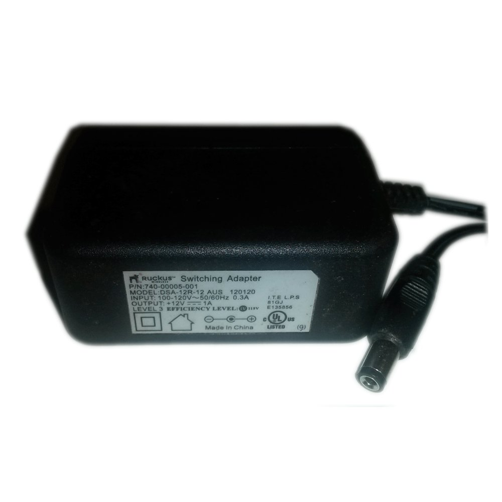 Ruckus AC Power Supply Adapter No. DSA-12R-12 AUS 120120 (Refurbished)