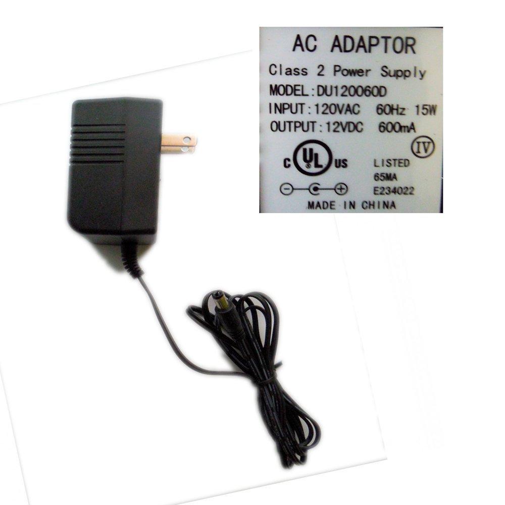 AC Adaptor Class 2 Power Supply AC Power Supply Adapter No. DU120060D