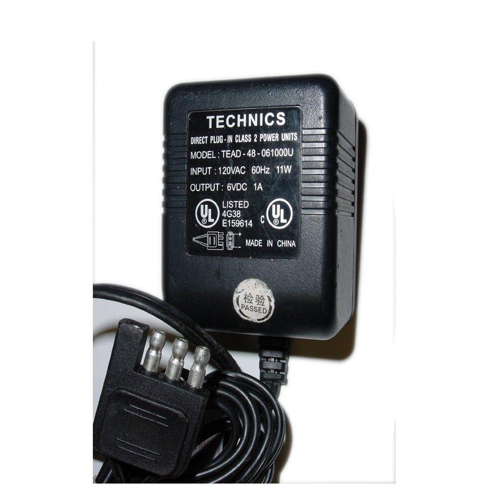 Technics AC Power Supply Adapter No. TEAD-48-061000U (Refurbished)