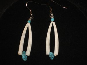 #1022--Shell, Turquoise Nugget