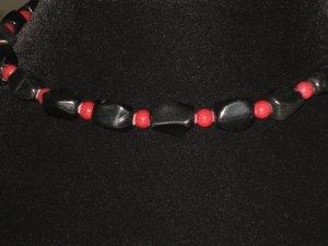 #36--Obsidian, Red Mountain Jade