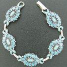 Florenta California South Western Style Bracelet with Faux Turquoise Bra2006