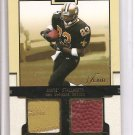 2002 Flair Donte Stallworth Franchise Tools Dual Patch/Ball #20/50