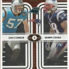 2008 Contenders Dan Connor/Shawn Crable Round Numbers #493/500