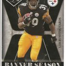 2008 Leaf Limited Willie Parker Banner Season #32/999