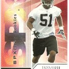 2004 SPX Demorrio Williams Rookie #1522/1650