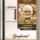 2008 Leaf Certified Limas Sweed FOTG 2 Color Patch #18/25