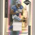 2006 Leaf Limited Roy Williams 2 Color Patch #23/30
