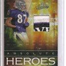 2007 Absolute Demetrius Williams Heroes Team Logo Patch #3/10