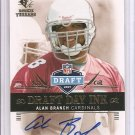2007 SP Rookie Threads Alan Branch Draft Day Ink Auto