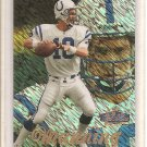 1998 Showcase Peyton Manning Row 1 Rookie