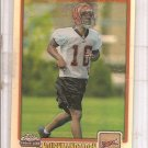 2001 Topps Chrome TJ Houshmandzadeh Rookie #979/999