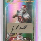 2006 Select Jeffery Webb Rookie Auto #79/250 Kansas City Chiefs